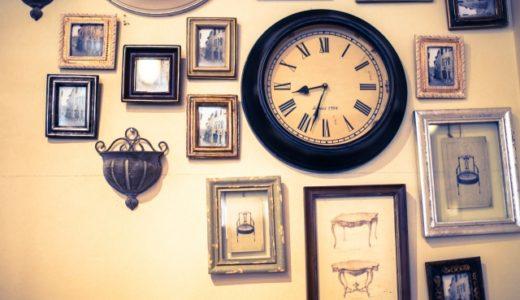 賃貸でも大丈夫!  穴を目立たせずに壁掛け時計を飾れる便利アイテムを紹介。