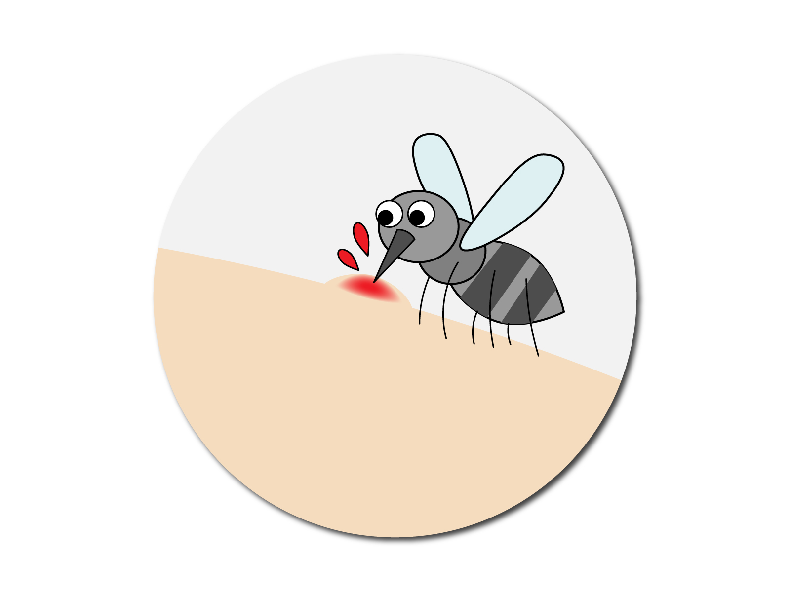 を 蚊 吸う 理由 血