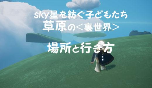 【sky星を紡ぐ子どもたち】草原<裏世界>の場所と行き方